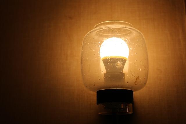 malá lampa