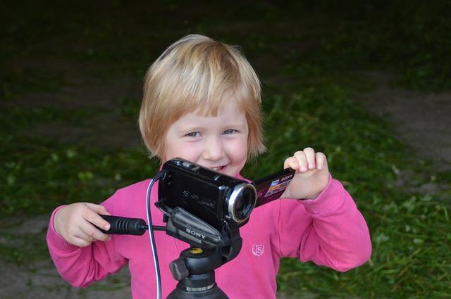 kameran a dítě