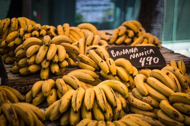 Banány na trhu